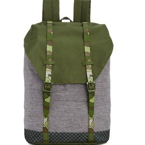 NWT Unisex Camo Padded Strap Backpack